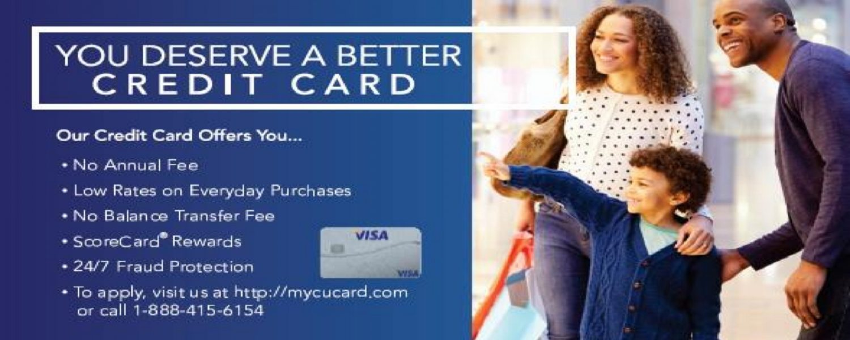 You deserve a better credit card.
